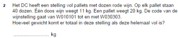 Hoeveel weegt een pallet